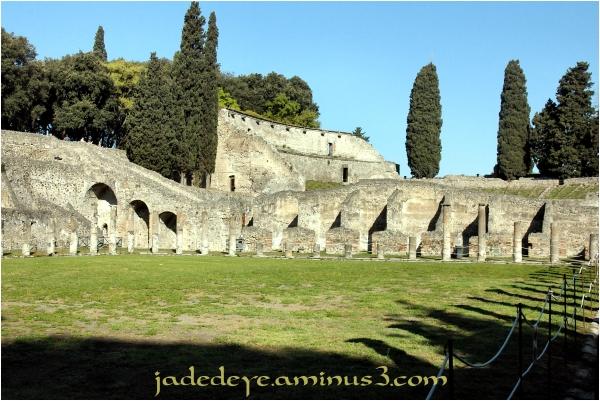 Pompeii Gladiator Barracks