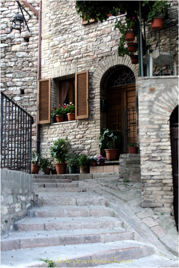 Side Street in Assisi