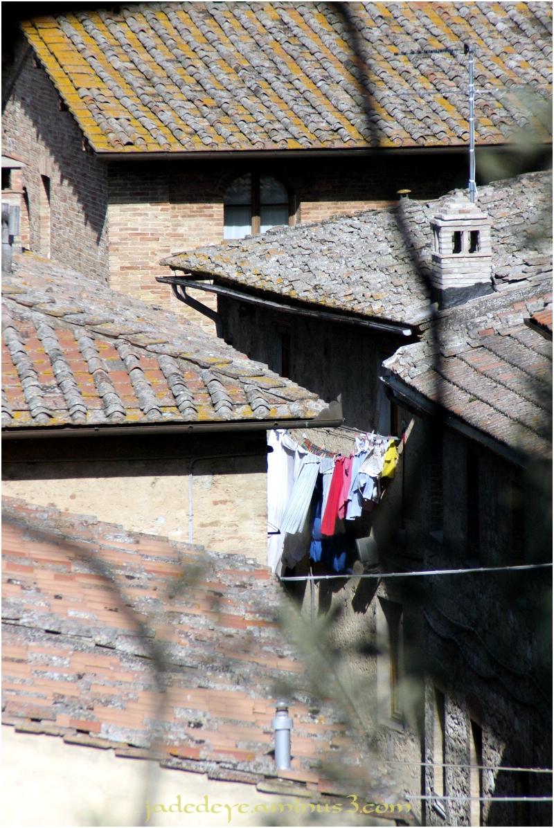 Wash Day in San Giminiano