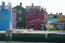 Wash Day in Murano