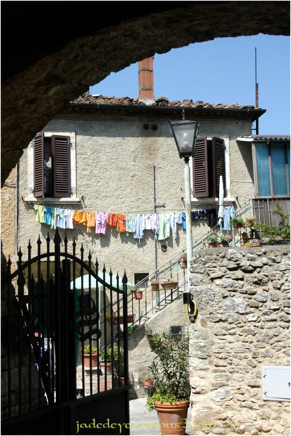 Wash Day in Tuscany