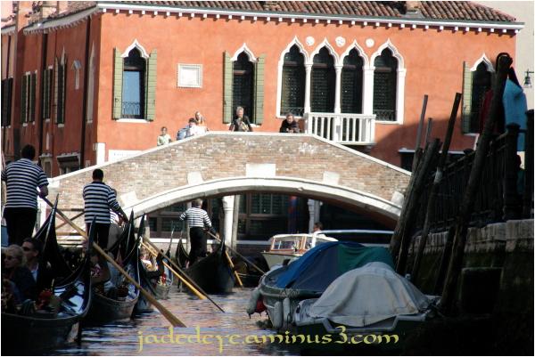 Gondolas in Venice #2