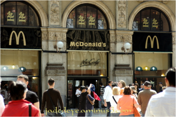 Golden Arches Meets Milan