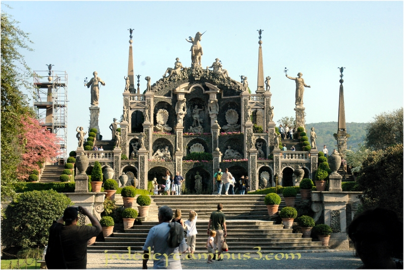 Entrance to the Gardens on Isola Bella