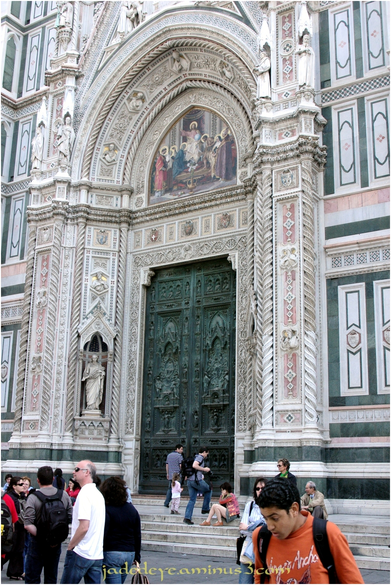Main portal of the Basilica