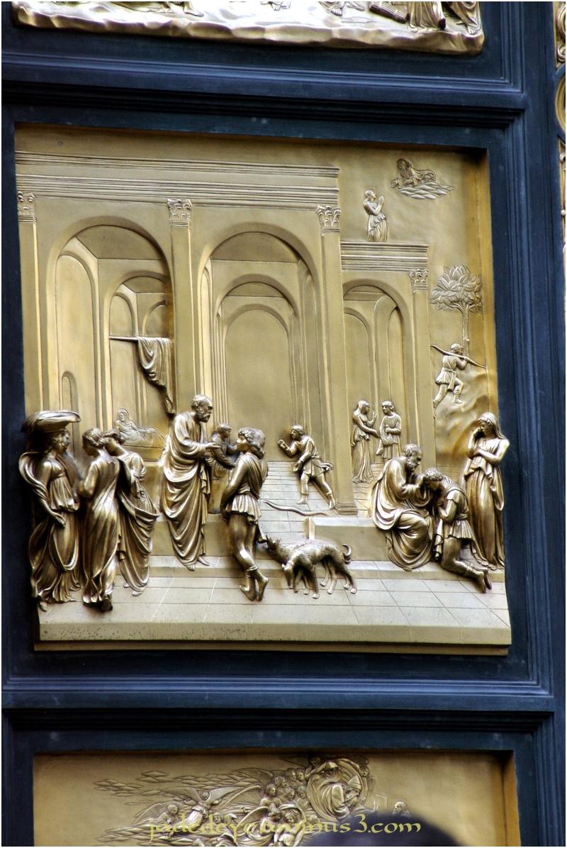 Baptistry Doors - Closeup #2