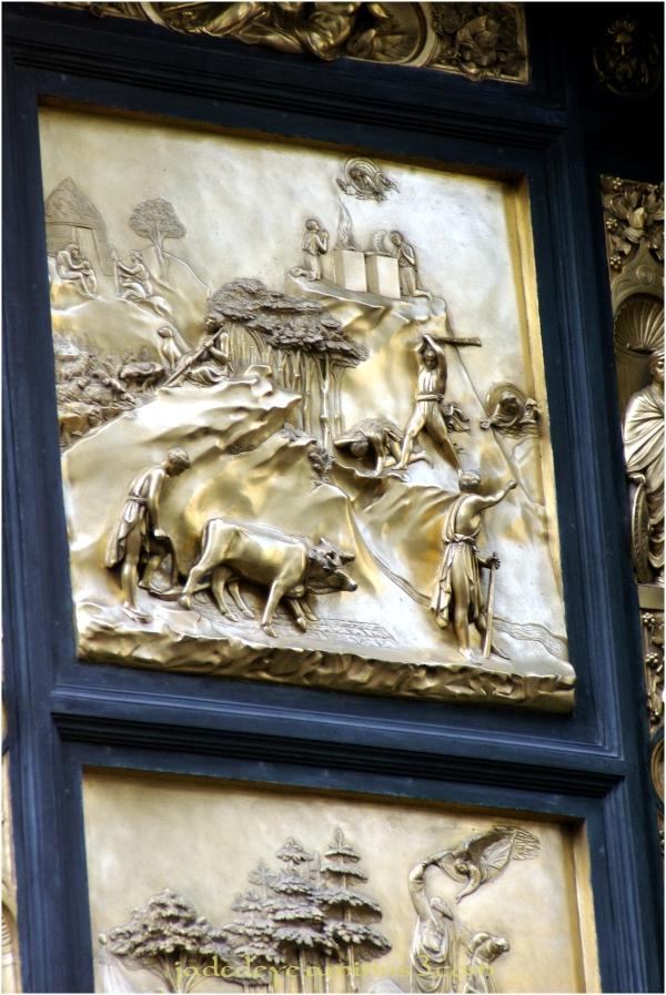 Baptistry Doors - Closeup #3