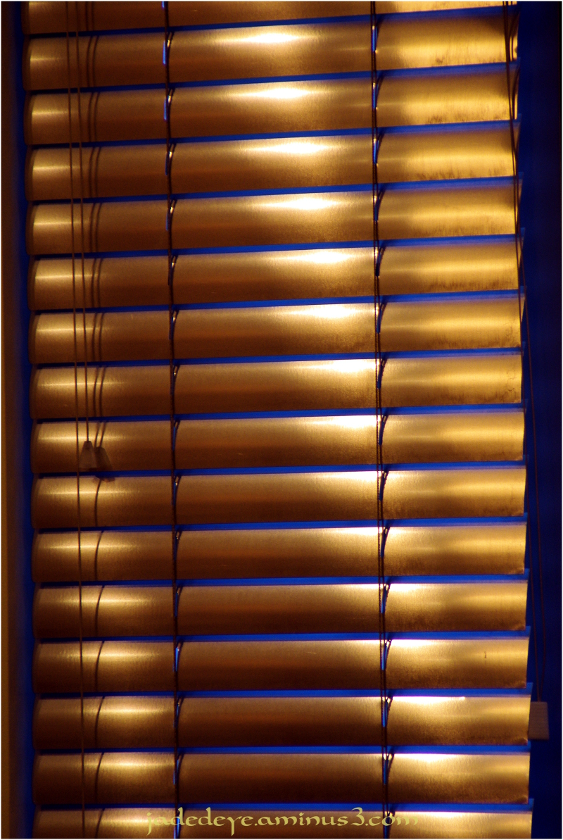 As We Close The Blinds on 2009