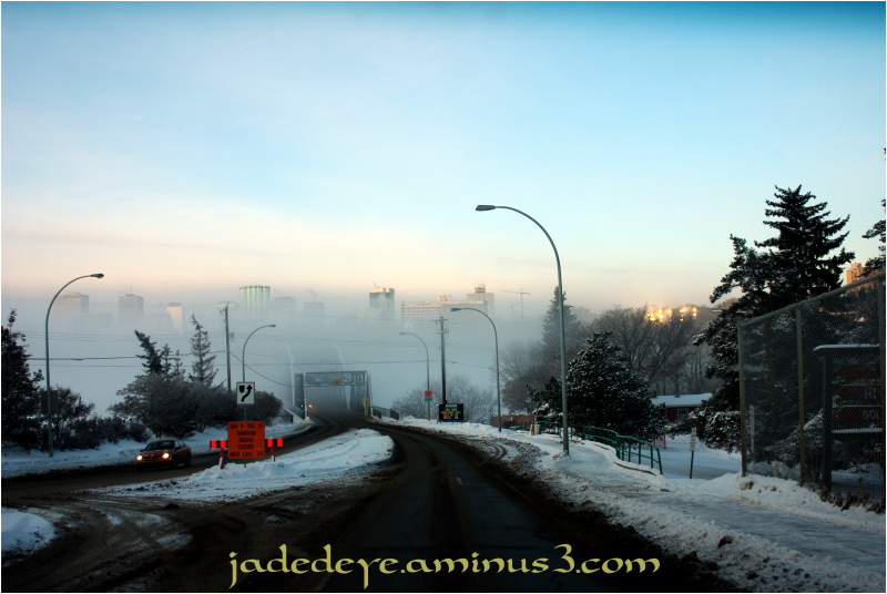 River Valley Ice Fog