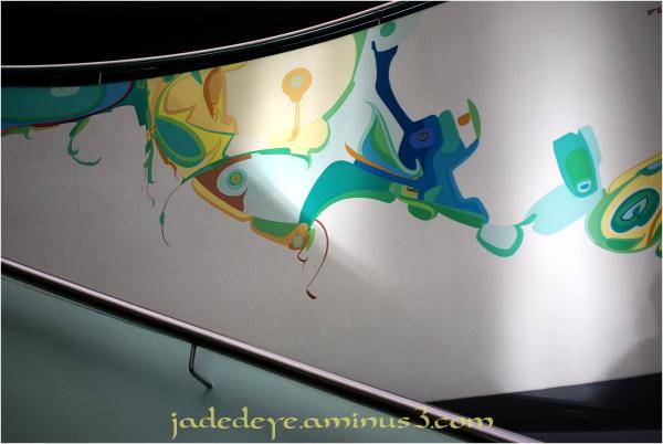 Alex Janvier Mural #2