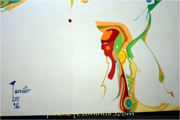 Alex Janvier Mural #3