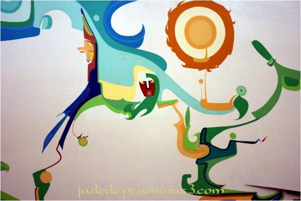 Alex Janvier Mural #4
