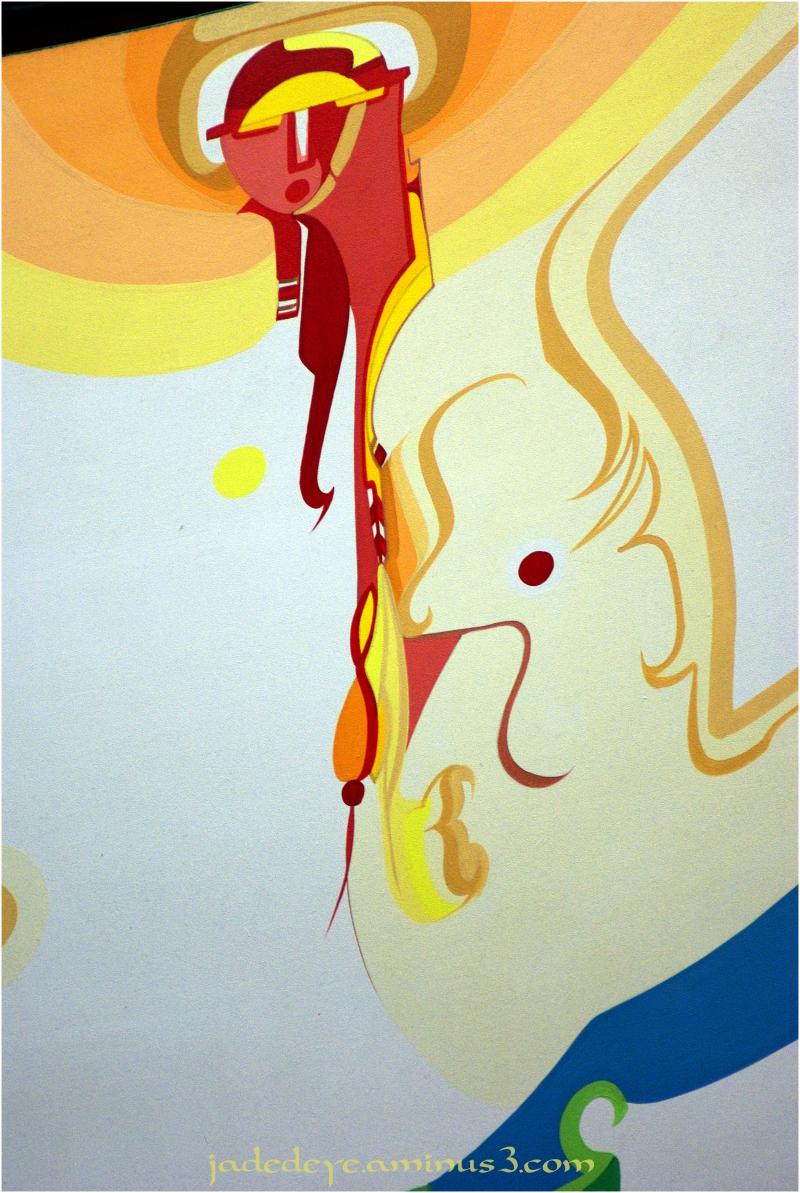 Alex Janvier Mural #7