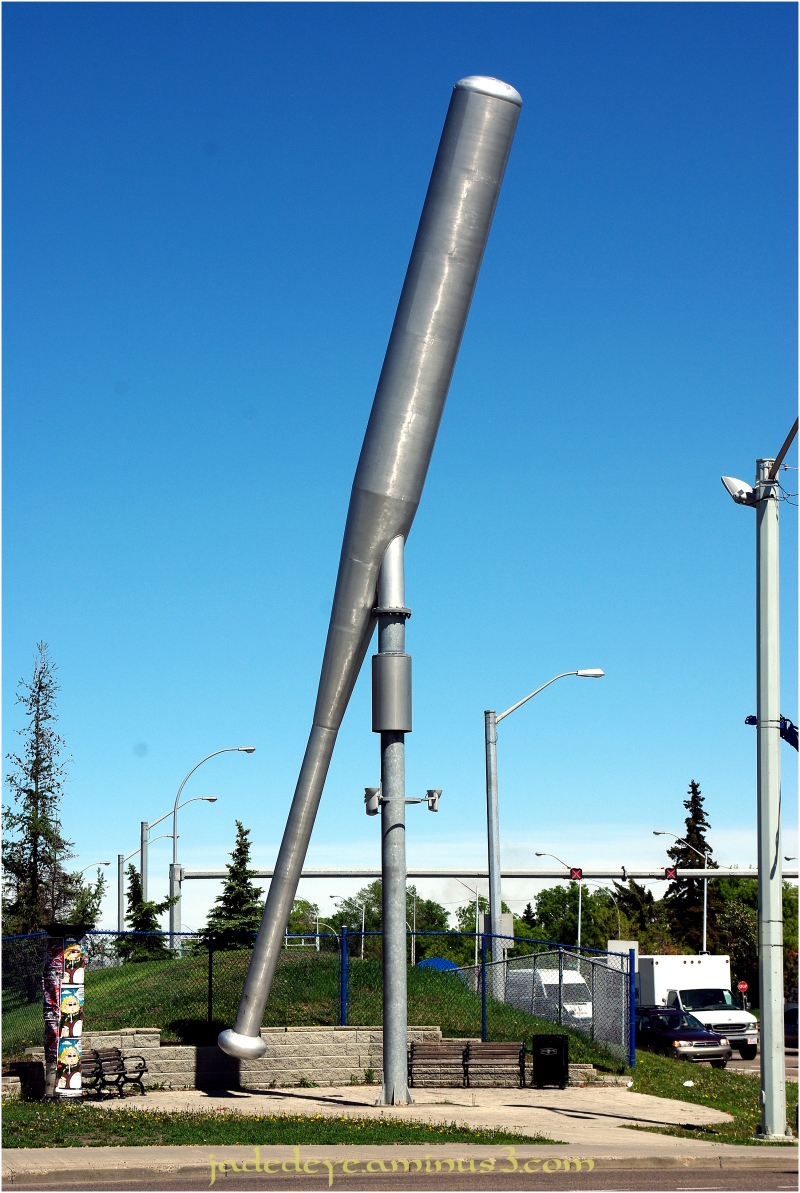 Giant Aluminium Baseball Bat