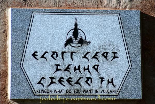 Klingon Warning