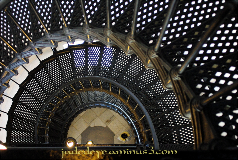 Yaquina Head Lighthouse Staircase