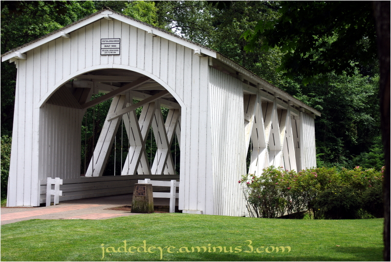 Stayton-Jordan Covered Bridge #1