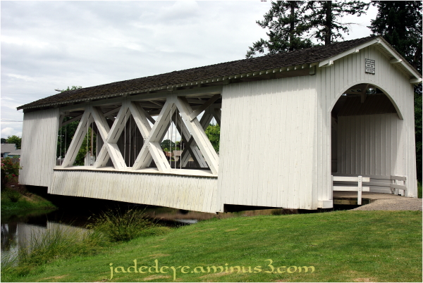 Stayton-Jordan Covered Bridge #3