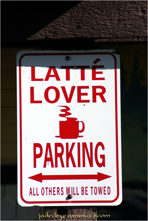 Latte Lover Parking