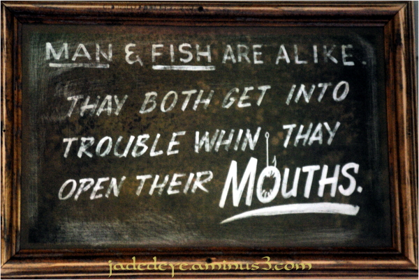 Man & Fish Are Alike