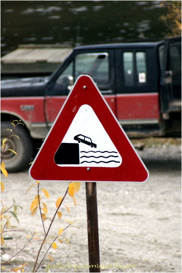 Beware - No Curbs!