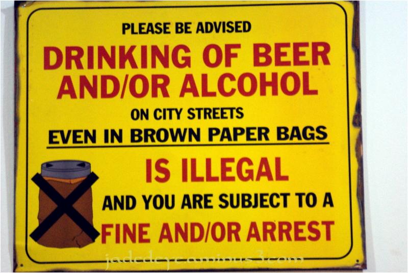 No Brown Paper Bags!