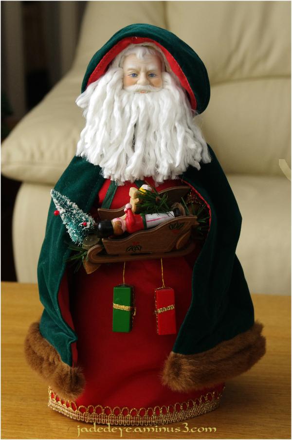 Green Santa