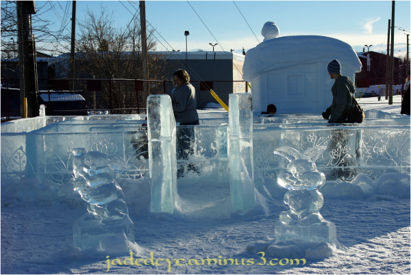 Children's Ice Maze
