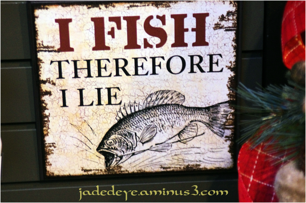 I Fish Therefore....