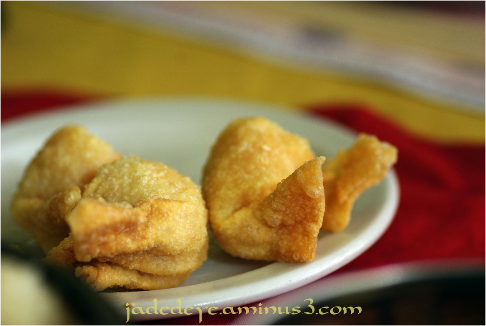 Deep Fried Shrimp Won Ton