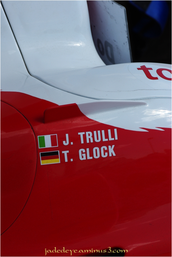 Jarno Trulli & Timo Glock