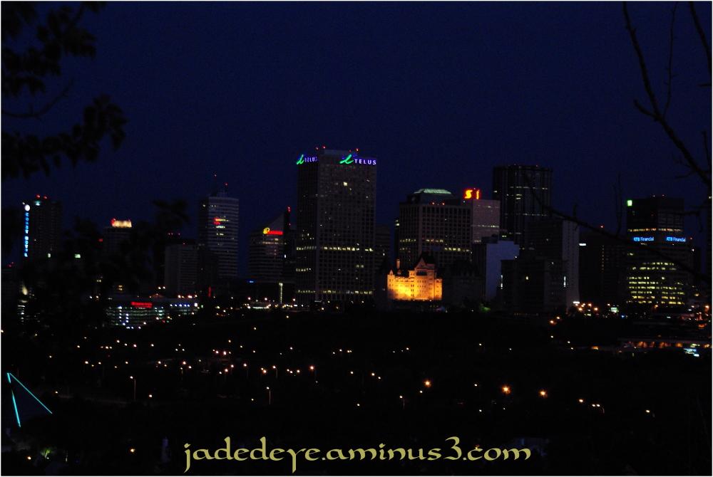 Edmonton at Night
