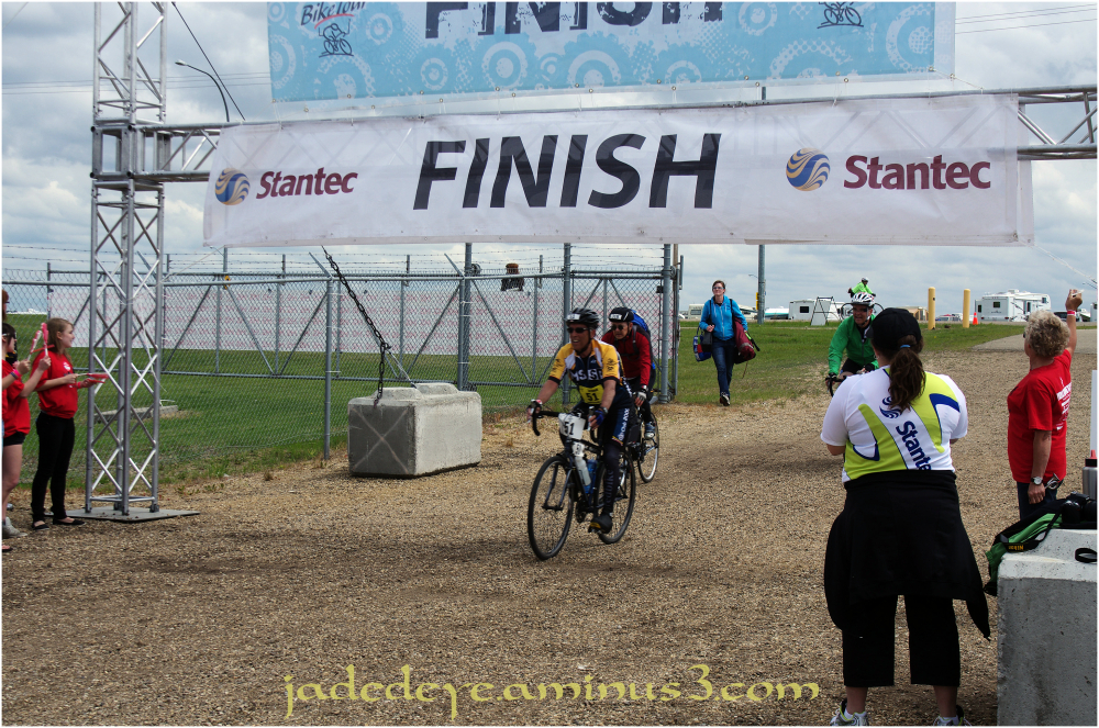 Half Way Finish Line