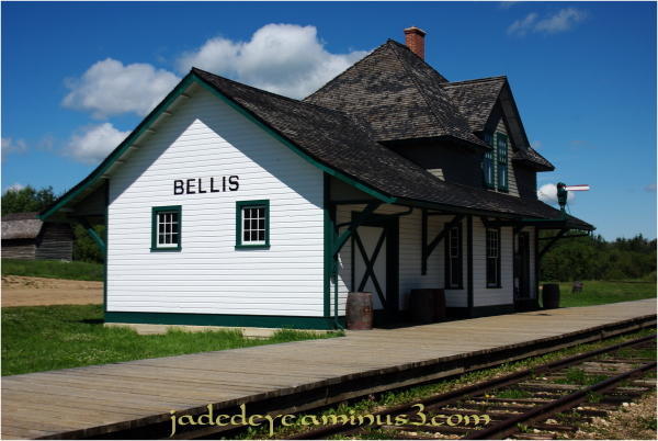 Bellis Canadian National Railway Station