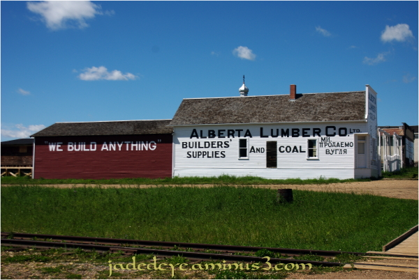 Alberta Lumber Company office & yard  (Built 1908)