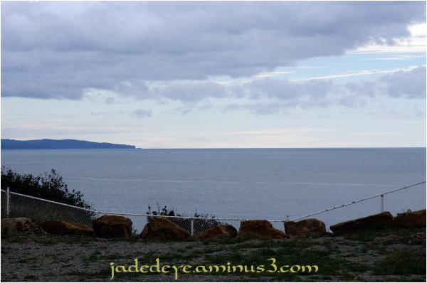 View Down Fundy Bay