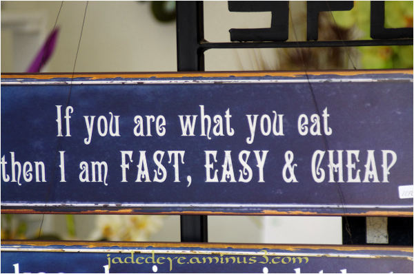 You Are What You Eat!