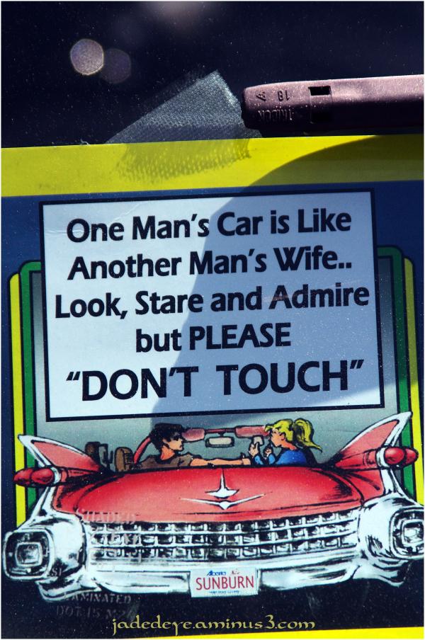 One Man's Car