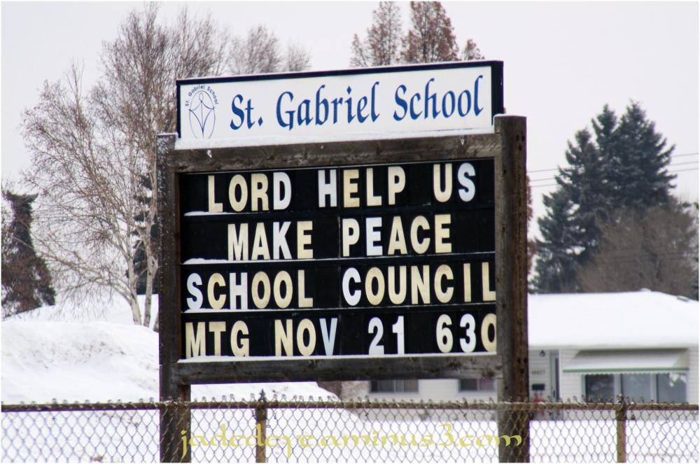 Lord Help Us Make Peace!