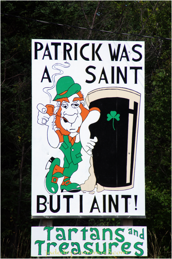 St Patrick Was A Saint....
