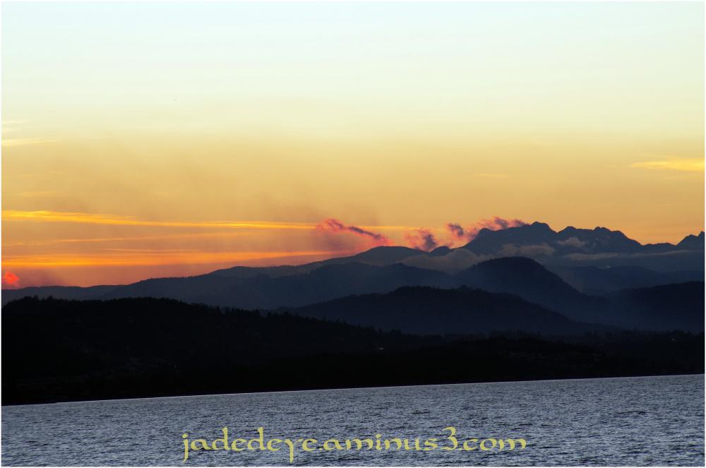 Nightfall Over Vancouver Island II