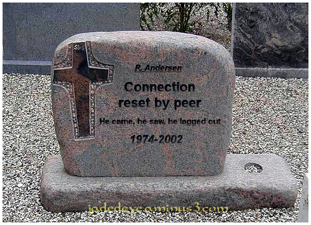 Connection Reset by Peer