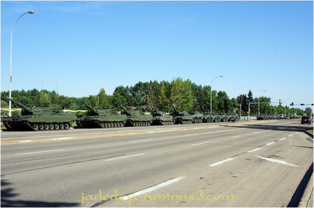 Tanks Massed In Waiting