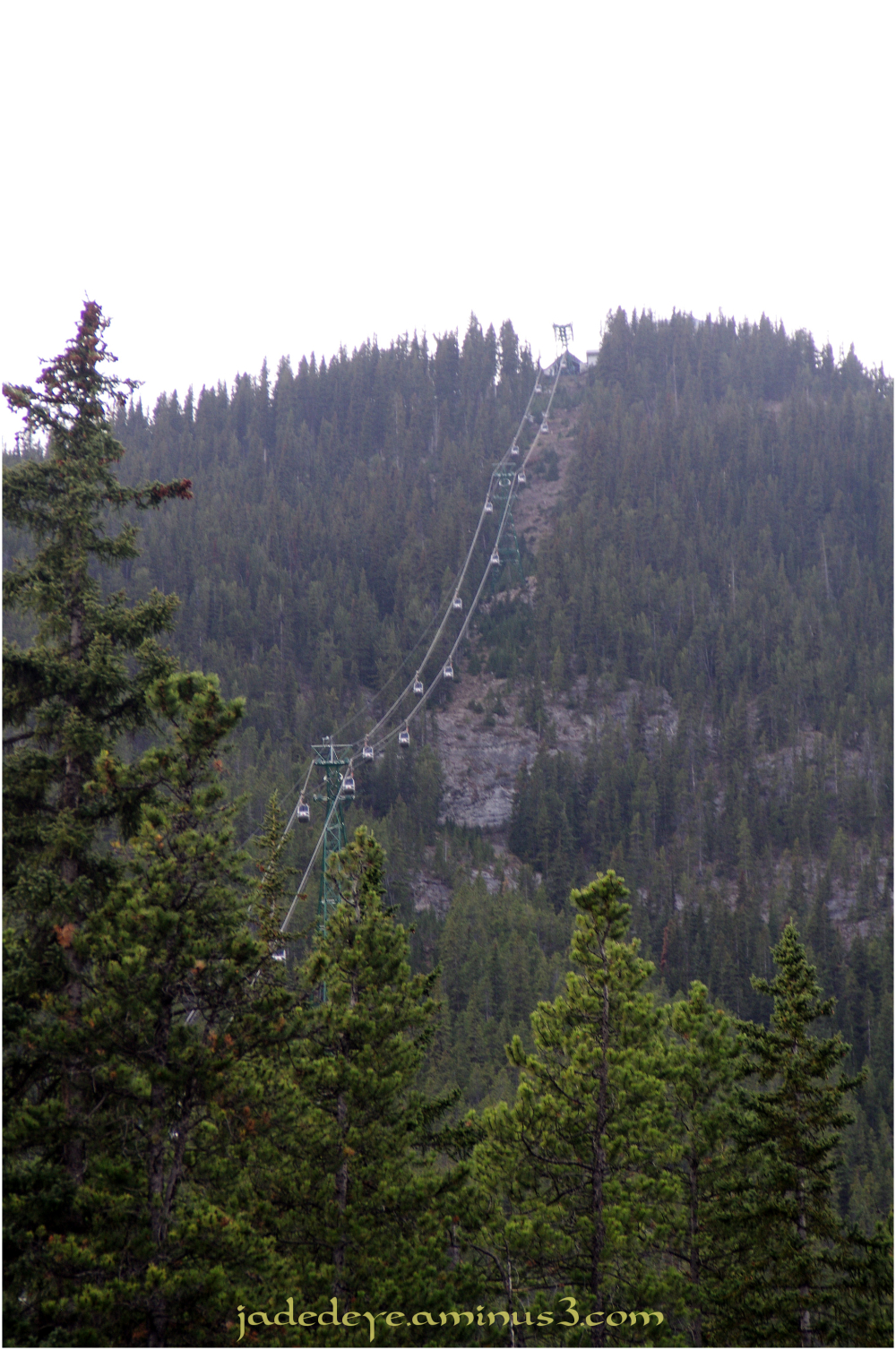Tramway Up Sulphur Mountain