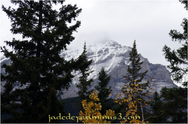 On The Road to Lake Louise