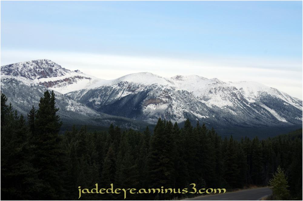 Exiting Jasper National Park