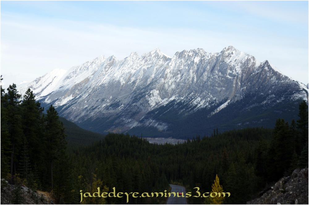 Exiting Jasper National Park II