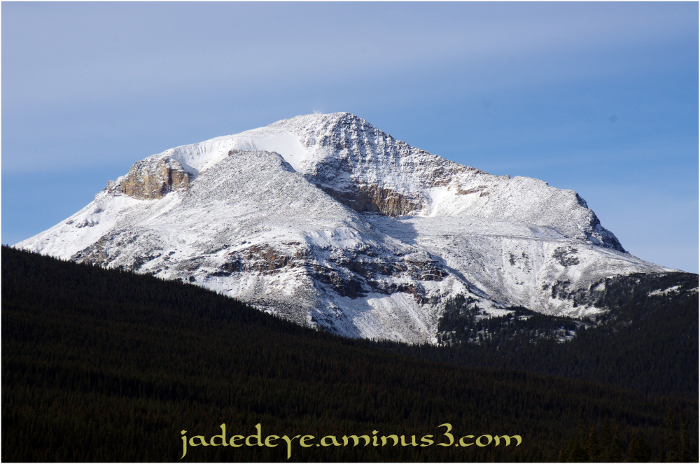 Exiting Jasper National Park III