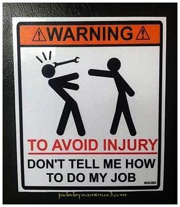 To Avoid Injury!!!