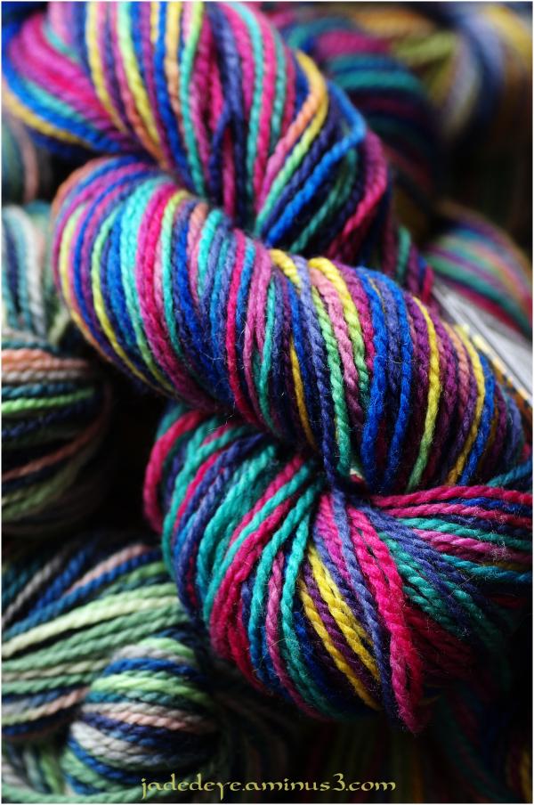 Multi-coloured Skeins